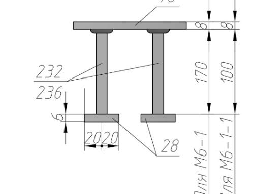 Закладная деталь М6-1, М6-1-1