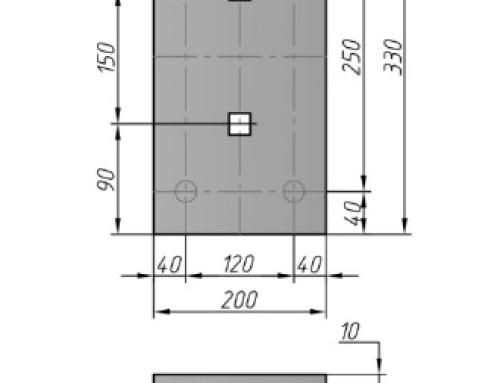Закладная деталь М6-2, М6-3