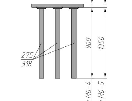 Закладная деталь М6-4, М6-5